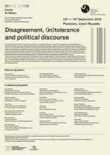 Disagreement, (in)tolerance and political discourse